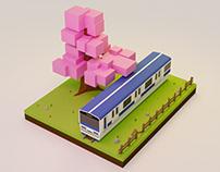 Take the train - B3DP 003