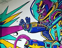 Space Cats | Mural ISM APAC