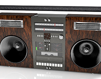 3D Model of a BoomBox