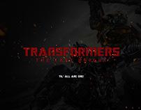 Transformers Web Design