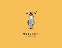 Motobhai Workshop - Brand Identity, Print Design