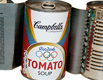 Campbell's Rio Olympic Soup Cans