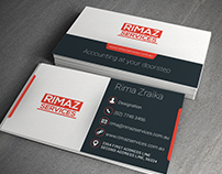 Business Card Design for a client