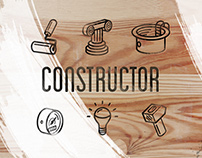 CONSTRUCTOR - REPAIR & BUILDING ICONS