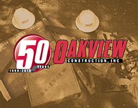 Oakview Construction, Inc, • 50 Year Calendar