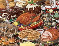 Christmas Feast Town! : Xmas 2016