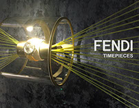 FENDI Timepieces Baselworld Booth 2015