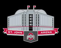 St. John Arena Logo