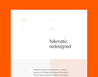 Folkmatic Redesign