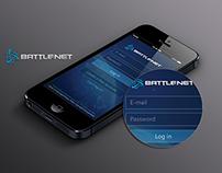 Battle.net App UI