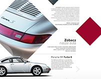 Luxury Cars - One Page