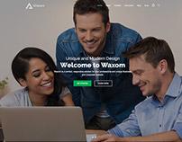 Waxom - WordPress Multipurpose Theme by Veented
