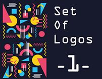 Set of Logos: 1