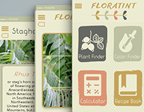 Floratint App icon and interface