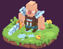 Pixel-Voxel Warrior