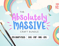 The Absolutely Massive Craft Bundle