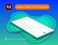 Xiaomi Dial Call Prototype and Download