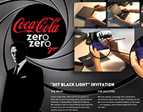 "Coke Zero ""Blacklight"" DM"