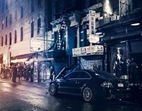 "Mercedes-Benz CLK 63 AMG ""Black Series"" in New York"