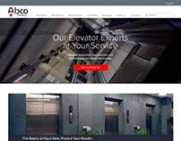 ABCO Elevators - Website Design