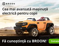 Google Ads Banners for Broon Cars
