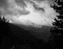 Nature - Black Stormy Sky