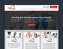 Website Design - ECMO Advantage