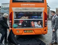 Illustratie 'Er gaat niets boven Groningen'-bus