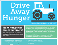 Drive Away Hunger campaign poster