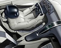 Porsche Interior Study