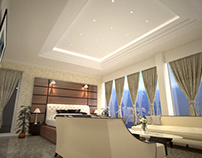 Proposed interior 3D ( ceiling design)