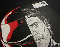 Graphic Novel BMW Motorrad / Direct Mail