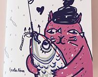 """Книга для детей """"Как поймать большую рыбу зимой"""""""