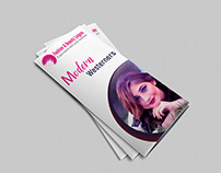 Fashion Trifold Brochure Design