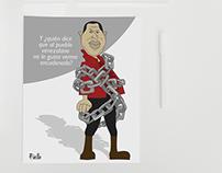 Political illustrations Venezuela