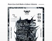 Cave Carli Radio x Cabaret Aléatoire