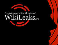 Graphic support for Wikileaks.