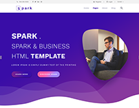 Spark : : Corporate Business Template Download free