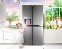 LG DIOS 정수기냉장고