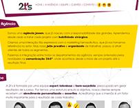 Website 2t's Comunicação