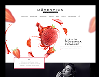Movenpick - Web design