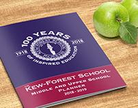 Kew-Forest School, 2018-2019 Weekly Planner