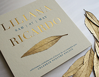 WEDDING INVITATION: Liliana & Ricardo