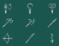 Iconos de armas/Weapons Icons (Free)