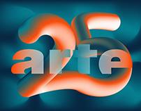 25. anniversary of Arte