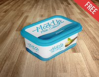 Plastic Container – 2 Free PSD Mockups