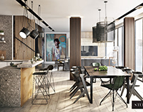 Apartment 3D Renders for NYC Interior Design Project
