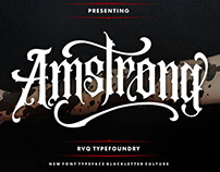 Amstrong typeface