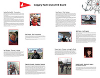 Calgary Yacht Club 2018 Board