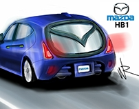 Mazda HB1 - concept sketch